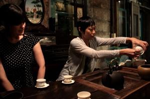 Xiaochu and I at Jiufen Teahouse