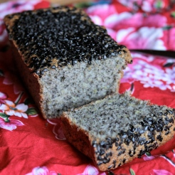 Gluten-Free Black Sesame and Lemon Tea Cake/ Travels in Taiwan https://bigsislittledish.wordpress.com/2013/10/27/tea-time-in-taipei-black-sesame-and-lemon-tea-cake-gluten-free/