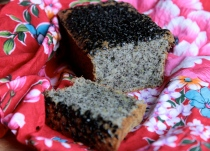 Black Sesame Lemon Tea Cake (Gluten-Free)