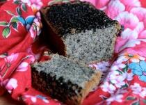 Black Sesame Lemon Tea Cake (Gluten-Free)
