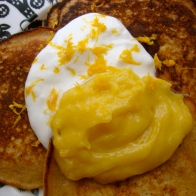 Gluten-Free Lemon Ginger Pancakes https://bigsislittledish.wordpress.com/2011/01/01/lemon-ginger-pancakes/