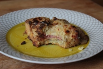 Croque Monsieur Biscuits https://bigsislittledish.wordpress.com/2013/12/07/croque-monsieur-biscuits-gluten-free-or-not/