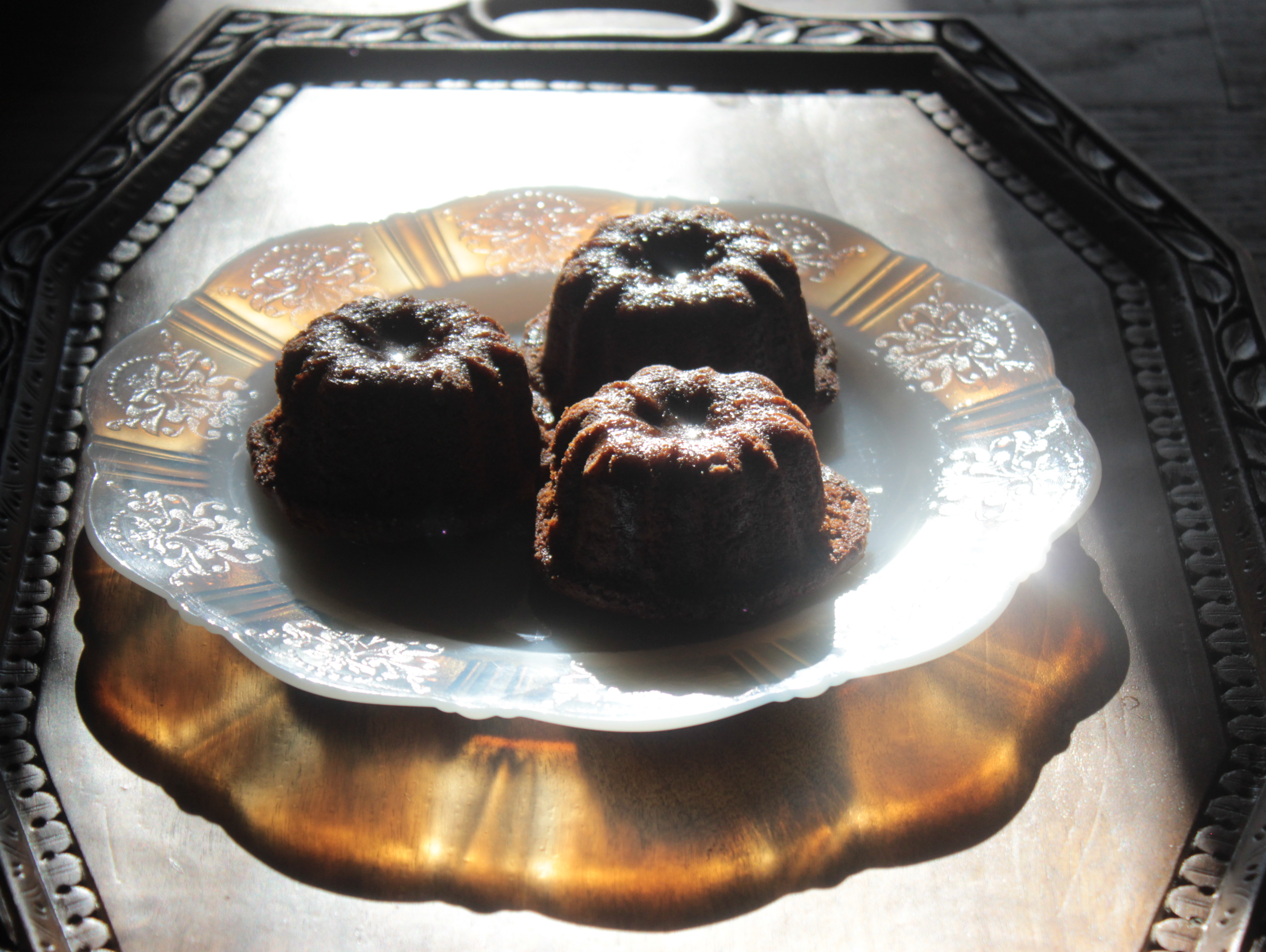 Sticky, Boozy Chocolate Plum Pudding Cake (Gluten-free or not) | Big ...