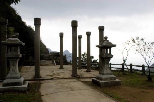 The ruin of a Shinto Shrine above Jinguashi