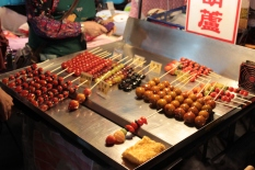 Candied Tomatoes. Keelung Night Market.