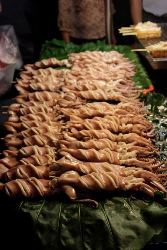 Squid. Keelung Night Market.