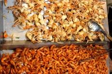 Tiny seafood! Keelung Night Market.