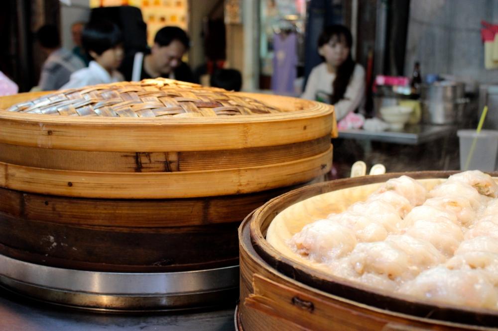 Tainan style dumplings in Keelung Night Market