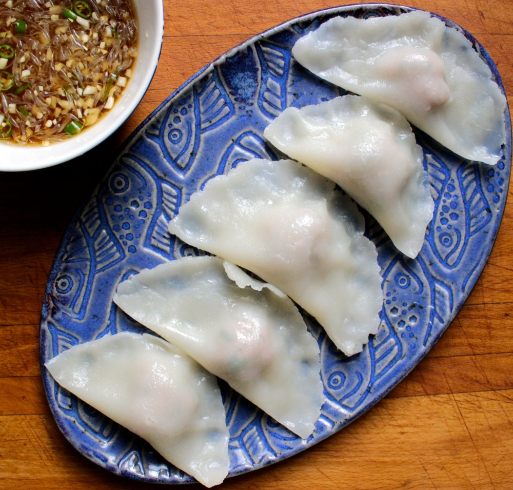 Gluten-Free Pork and Shrimp Dumplings