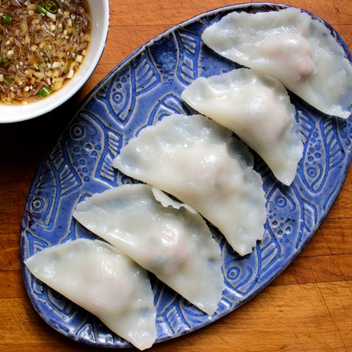 Gluten-Free Pork and Shrimp Dumplings/ Travels in Taiwan https://bigsislittledish.wordpress.com/2014/02/02/happy-lunar-new-year-gluten-free-shrimp-and-pork-dumplings-inspired-by-travels-in-taiwan/