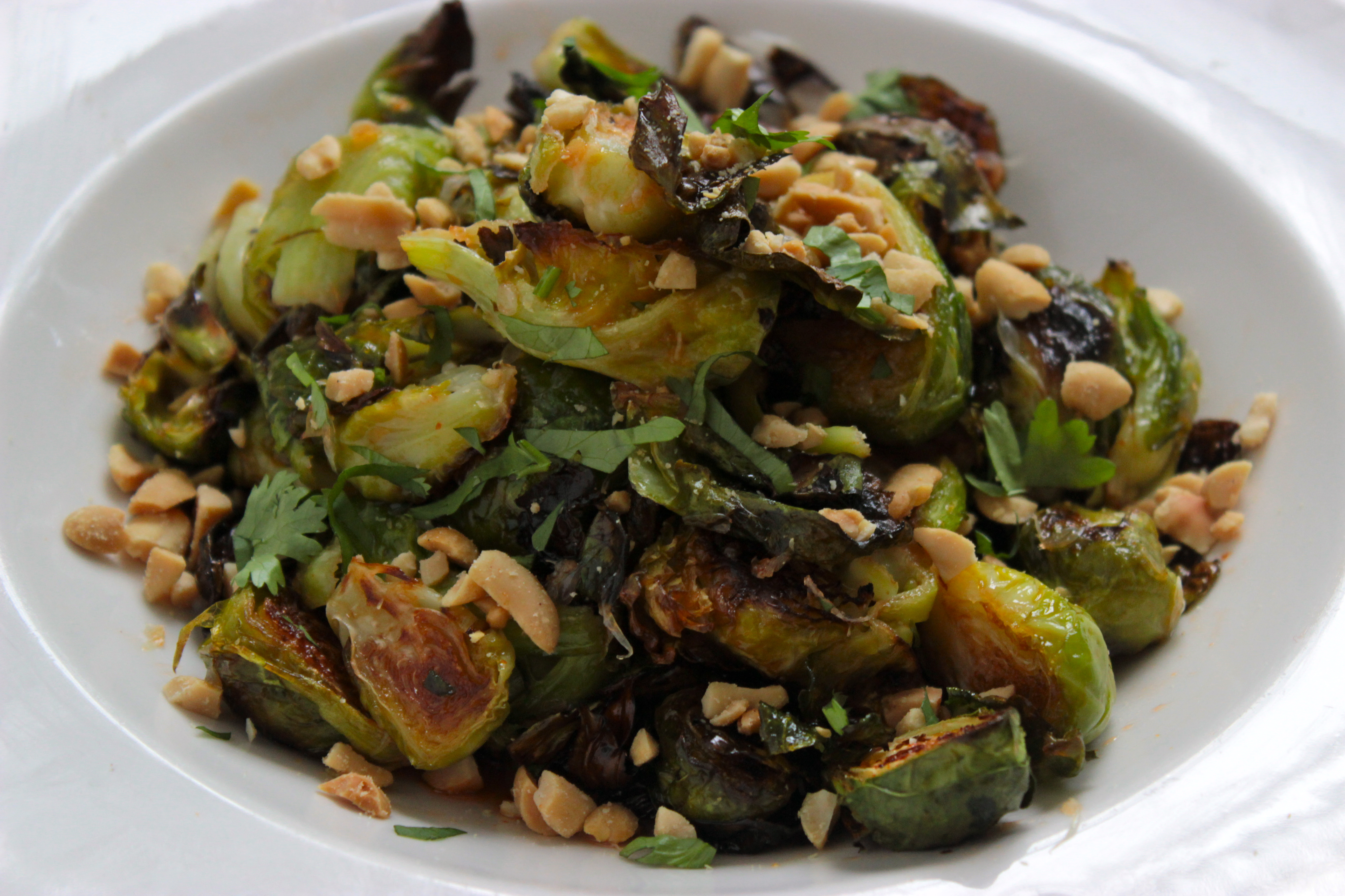 Roasted Brussel Sprouts with Sweet Lime Sriracha Sauce ...