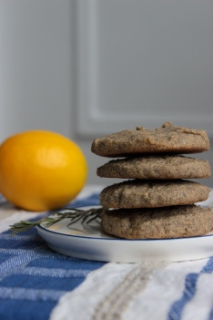 Rosemary Lemon Buckwheat Cookies https://bigsislittledish.wordpress.com/2014/04/12/rosemary-lemon-buckwheat-cookies-gluten-free/