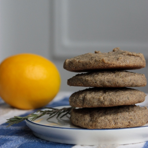 Rosemary Lemon Buckwheat Cookies https://bigsislittledish.wordpress.com/2014/04/12/rosemary-lemon-buckwheat-cookies-gluten-free/