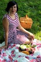 Ravishing radish model, Kirsten Kammermeyer