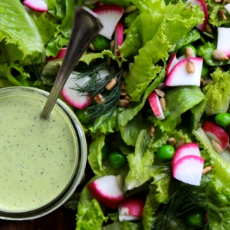 Cashew Dill Lemon Dressing https://bigsislittledish.wordpress.com/2014/07/19/cashew-dill-lemon-dressing-farmshare-cooking/