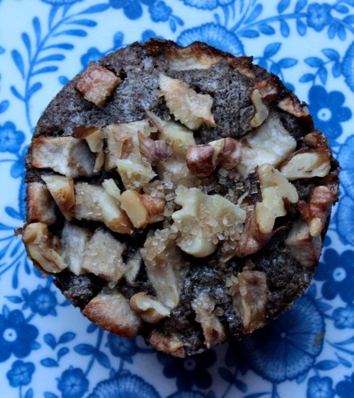 Cinnamon Financiers with Apples and Walnuts (Gluten-Free) https://bigsislittledish.wordpress.com/2014/10/04/cinnamon-financiers-with-apples-and-walnuts-gluten-free/
