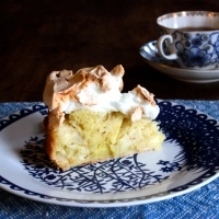 Goddess Apple Cake with Meringue Topping (Gluten-Free)