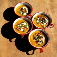 Red Lentil and Autumn Vegetable Soup