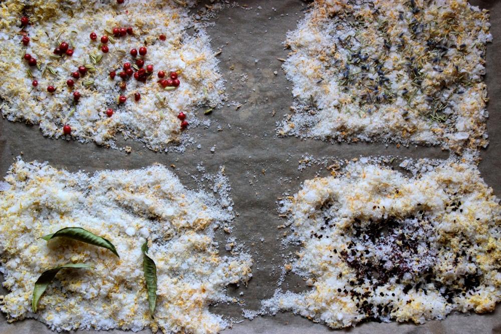 Spice Infused Lemon Salt
