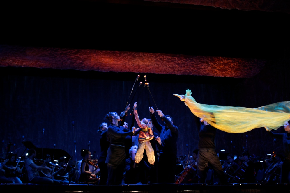 Performing Firebird in Frutillar, Chile