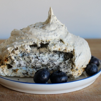 Lemon Poppy Seed Meringues https://bigsislittledish.wordpress.com/2015/02/13/lemon-poppy-seed-meringues/