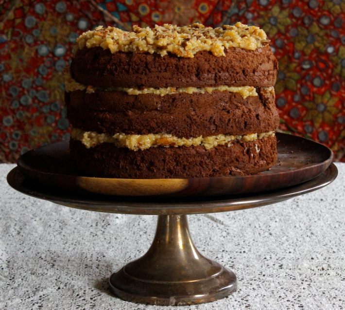 Grown Up Gluten-Free German Chocolate Cake