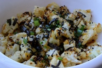 Miso Butter Broiled Cauliflower