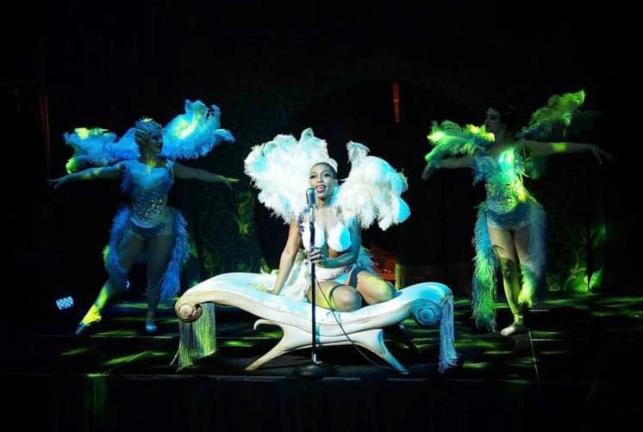 Speakeasy Dollhouse- Ziegfeld's Midnight Frolic