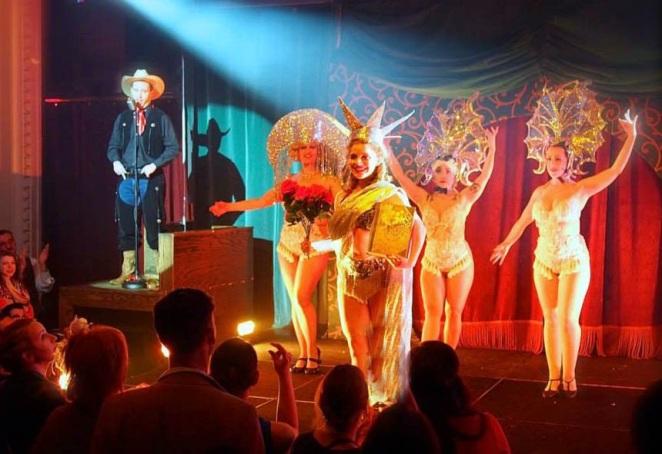Speakeasy Dollhouse- Zeigfeld's Midnight Frolic