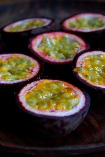 Coconut and Passionfruit Chia Seed Pudding