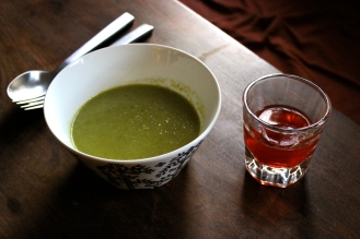 Paul's (a) Sweet Pea Soup