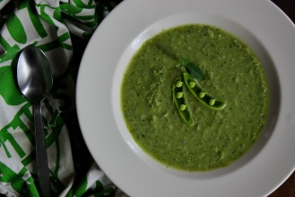 Paul's a Sweet Pea Soup https://bigsislittledish.wordpress.com/2015/06/19/pauls-a-sweet-pea-soup-farmshare-cooking-weeks-1-and-2/