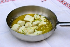 Oil Poached Halibut with Green Fennel Seeds and Dry Apple Cider https://bigsislittledish.com/2015/09/01/oil-poached-halibut-with-green-fennel-seeds-and-dry-apple-cider/
