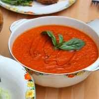 Tomato Soup with Smoked Paprika
