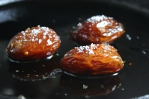 Sautéed and Salted Medjool Dates https://bigsislittledish.com/2016/03/19/sauteed-and-salted-medjool-dates-with-whiskey/