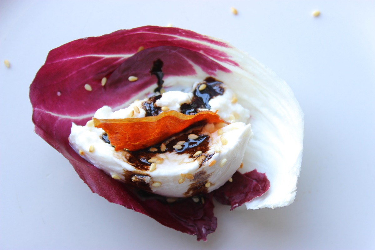 Radicchio and Burrata/ Arthur Avenue