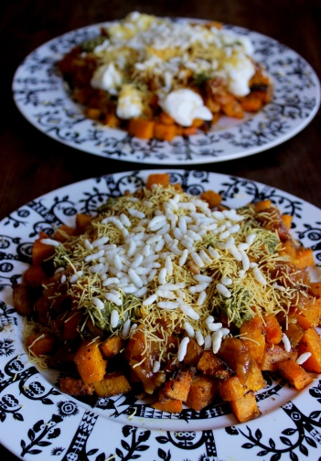 Butternut Chaat https://bigsislittledish.com/2016/11/14/butternut-chaat/