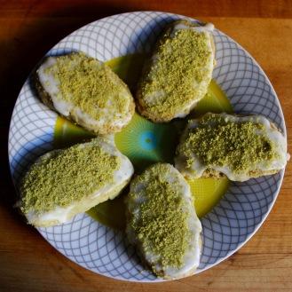 Pistachio Shortbread with Lemon Glaze https://bigsislittledish.com/?s=Pistachio
