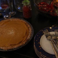 Vegan and Gluten Free Pumpkin Pie