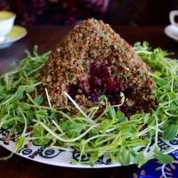 Kasha and Beet Salad/ Estonian Folktale Dinner