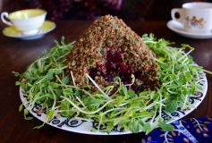 Kasha and Beet Salad/ Estonian Folktale Dinner https://bigsislittledish.com/2017/02/26/kasha-and-beet-salad-estonian-folktale-dinner/