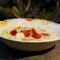 Corn and Seafood Chowder (Dairy-Free)